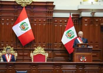 El presidente Kuczynski dio un Mensaje a la Nación tras cumplir un año de gobierno.