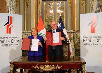 Mandatarios de Perú y Chile catalogaron el primer Gabinete Ministerial entre sus países como un hecho histórico.