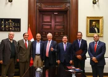 El presidente Kuczynski y el premier Zavala se reunieron esta vez con congresistas de Acción Popular y PPK.
