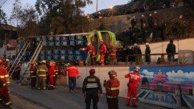 Tragedia en cerro San Cristobal