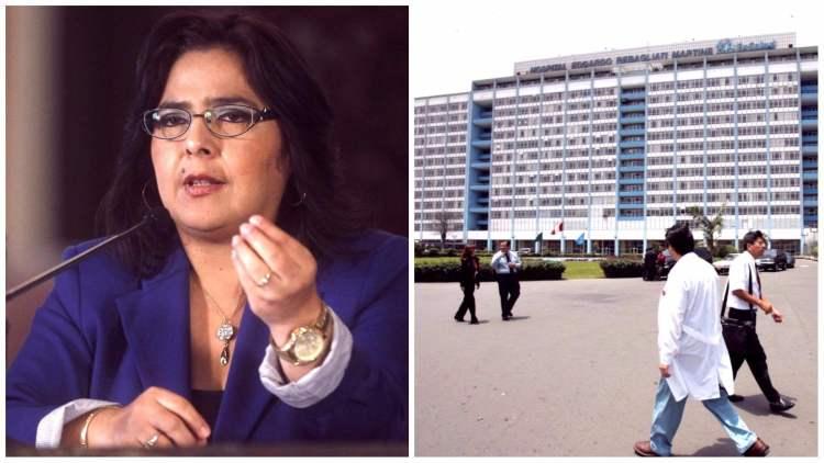 Ana Jara denuncia negligencia de EsSalud