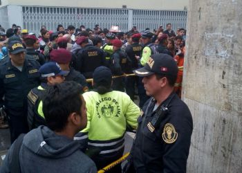 Balacera en el Centro de Lima