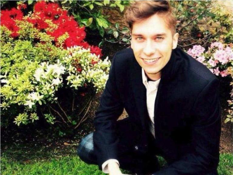 Luca Russo, 25, de Italia