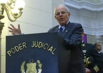 El jefe de Estado aseguró que no abogará por los expresidentes Fujimori, Toledo y Humala.