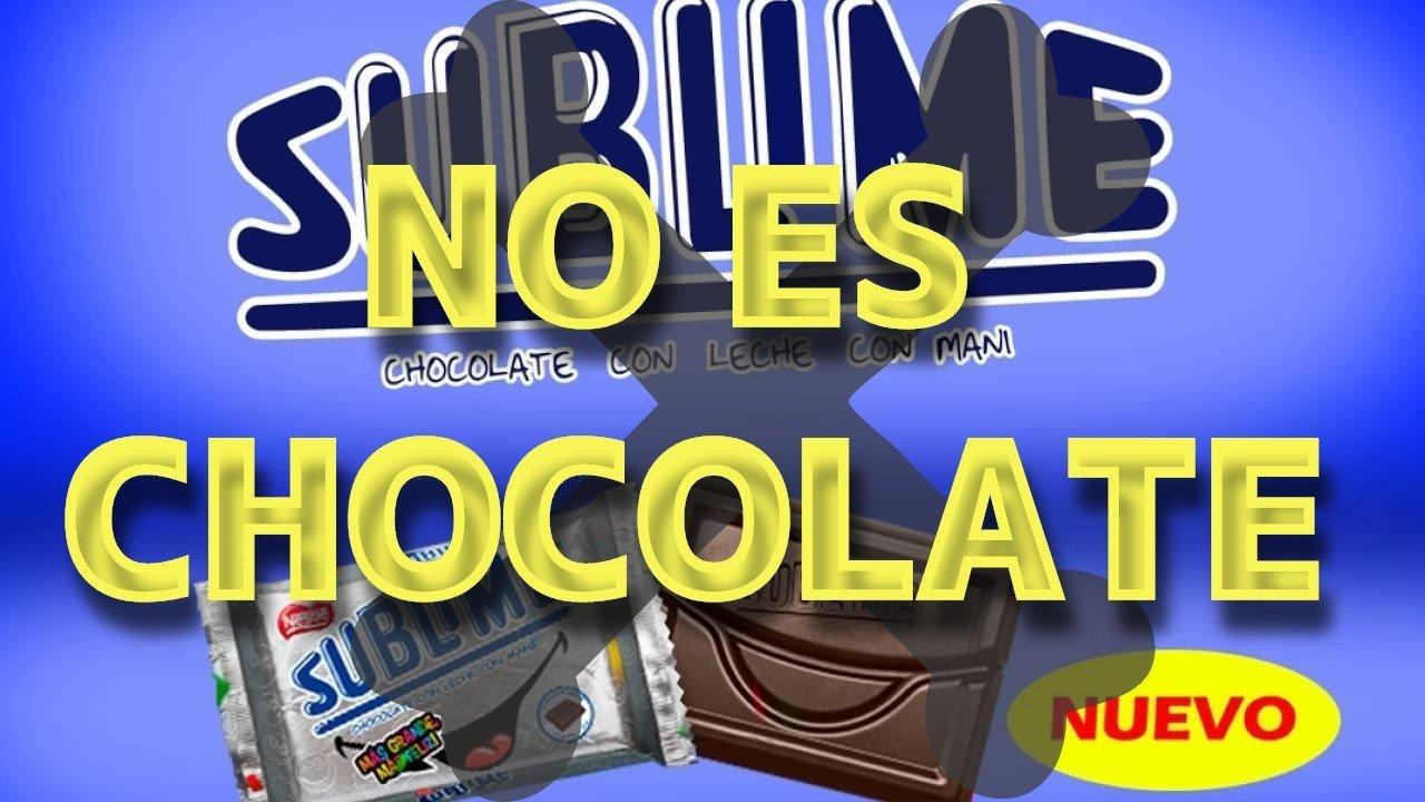Sublime no es chocolate