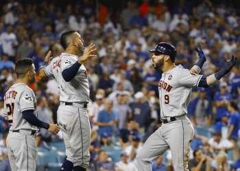 Gran y vital triunfo de los Astros en Los Ángeles.
