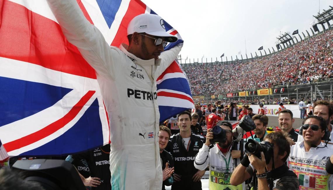 Lewis Hamilton se proclamó tetracampeón de Fórmula 1.
