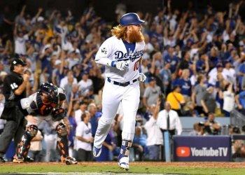Justin Turner le dio el triunfo a los Dodgers con un jonrón.
