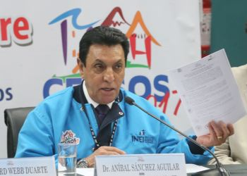 Jefe del INEI Anibal Sánchez