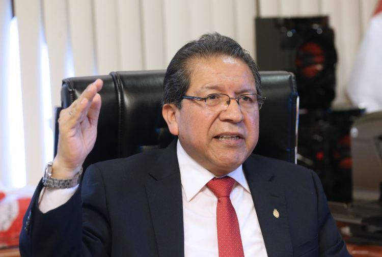 Fiscal de la Nación Pablo Sánchez