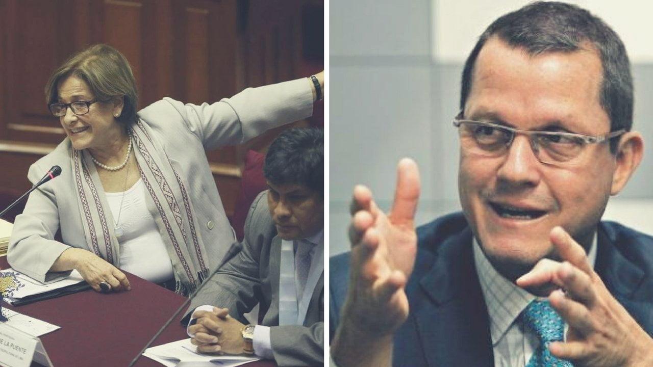 Susana Villarán y Jorge Barata