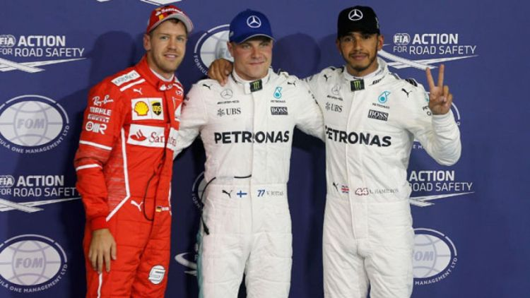 El finlandés Bottas ganó en Abu Dhabi.