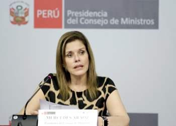 La premier Aráoz expresó que el Gabinete debe apoyar al presidente Kuczynski, en el camino hacia la reconciliación nacional.