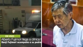 Alberto Fujimori en clínica