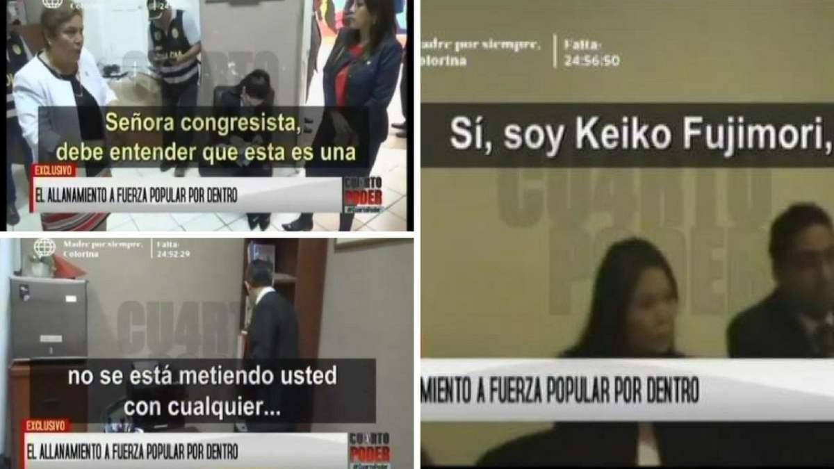 Congresistas de Fuerza Popular sí obstruyeron allanamiento de la Fiscalía