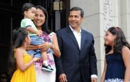 Ollanta Humala Nadine Heredia y familia
