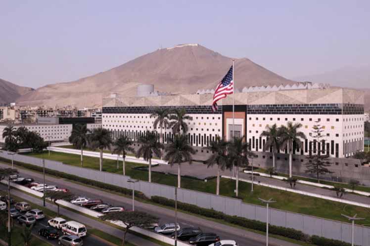 Extraña alerta de seguridad de embajada norteamericana en Perú