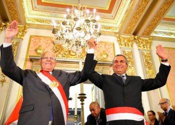 El general PNP en retiró, Vicente Romero, asumió las funciones de Ministro del Interior.