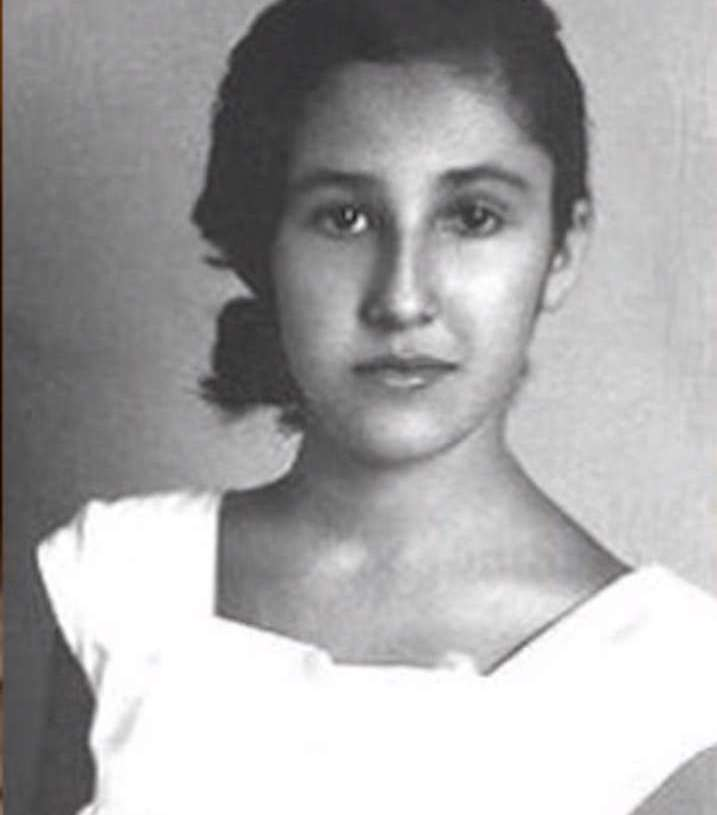 Doña Florinda de adolescente