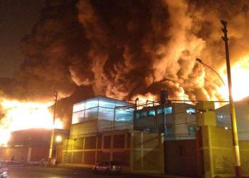 Incendios en Lima por Año Nuevo