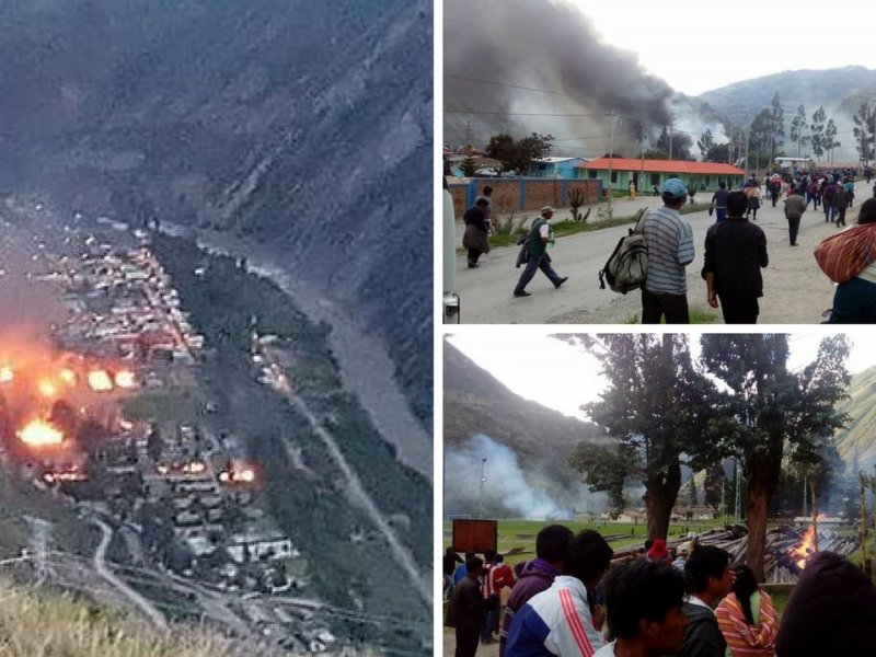 Paro agrario se agrava en Huancavelica