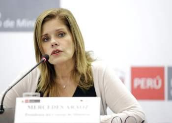 Mercedes Aráoz anunció el plan de inversión para acelerar el proceso de la Reconstrucción Con Cambios en el presente año.