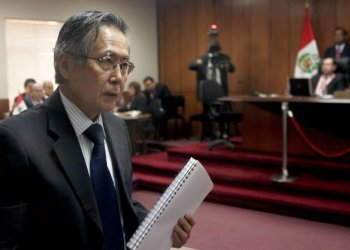Alberto Fujimori afrontará juicio por el caso Pativilca.
