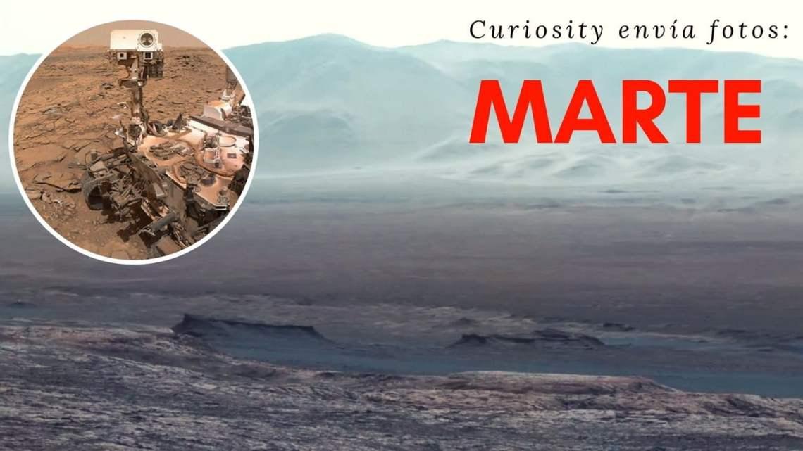 La NASA publica las imágenes más increíbles de Marte tomadas por el Curiosity