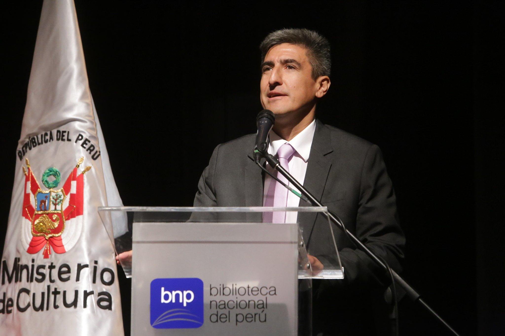 Ministro de Cultura, Alejandro Neyra