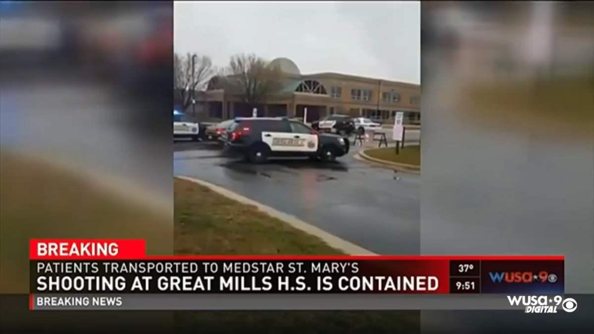 Muere sospechoso de tiroteo en escuela secundaria en Maryland