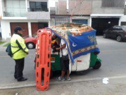 Brigada de Rescate de Surco atendió parto en mototaxi