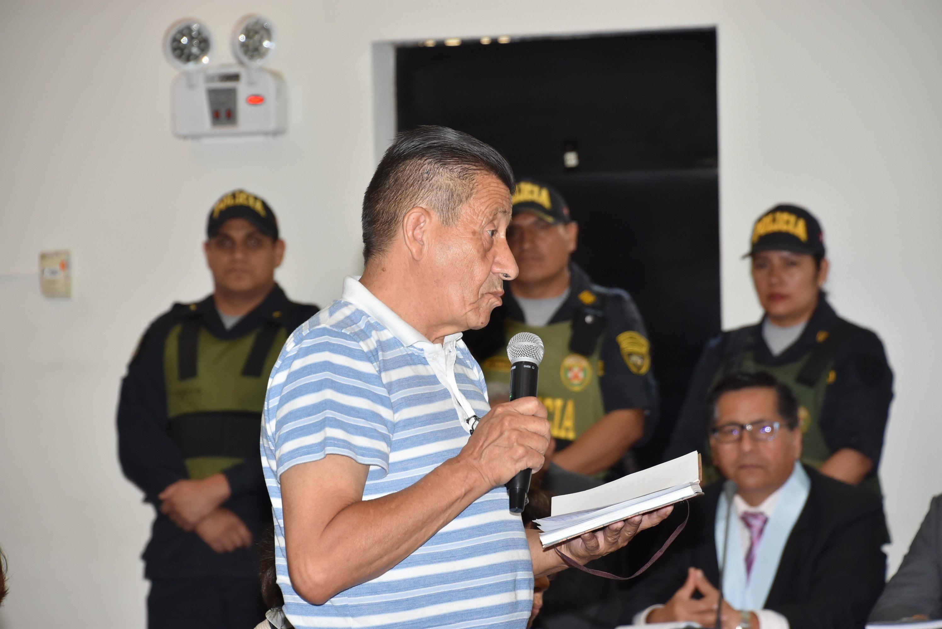 DISPONEN DETENCIÓN DOMICILIARIA PARA SENDERISTAS OSMÁN MOROTE Y MARGOT LIENDO