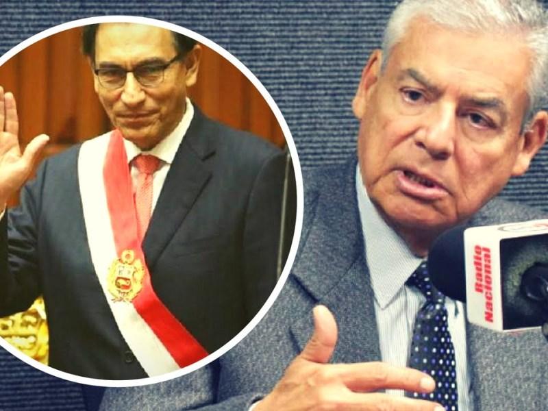 César Villanueva y Martín Vizcarra