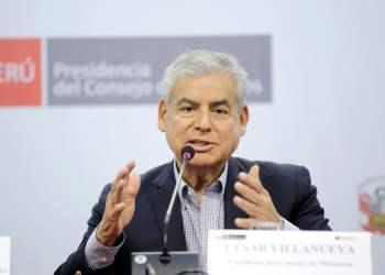 El premier Villanueva dio detalles de las facultades que el gobierno solicitará al Congreso.