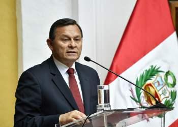 El embajador Popolizio asumió la Cancillería.