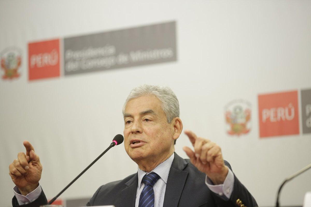 """Premier César Villanueva: """"Somos un gobierno que no tenemos antis de nada"""""""