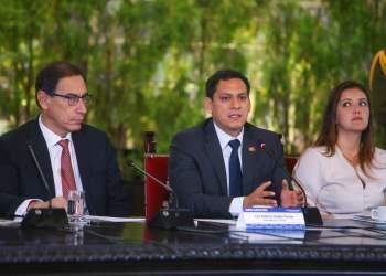 El presidente Vizcarra manifestó que con promesas no se saca nada, si es que no hay temas concretos.
