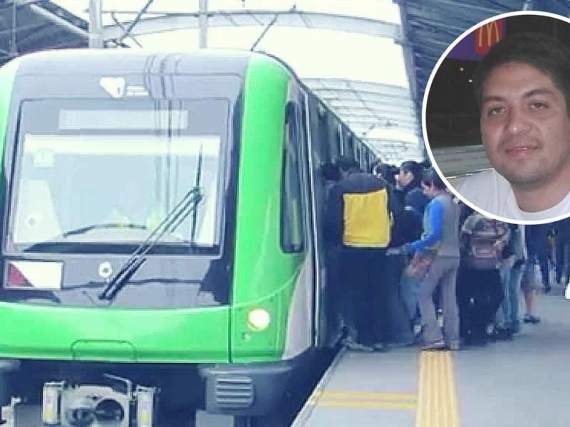 Ciudadano venezolano identificado como el hombre que se lanzó a vías del Metro de Lima