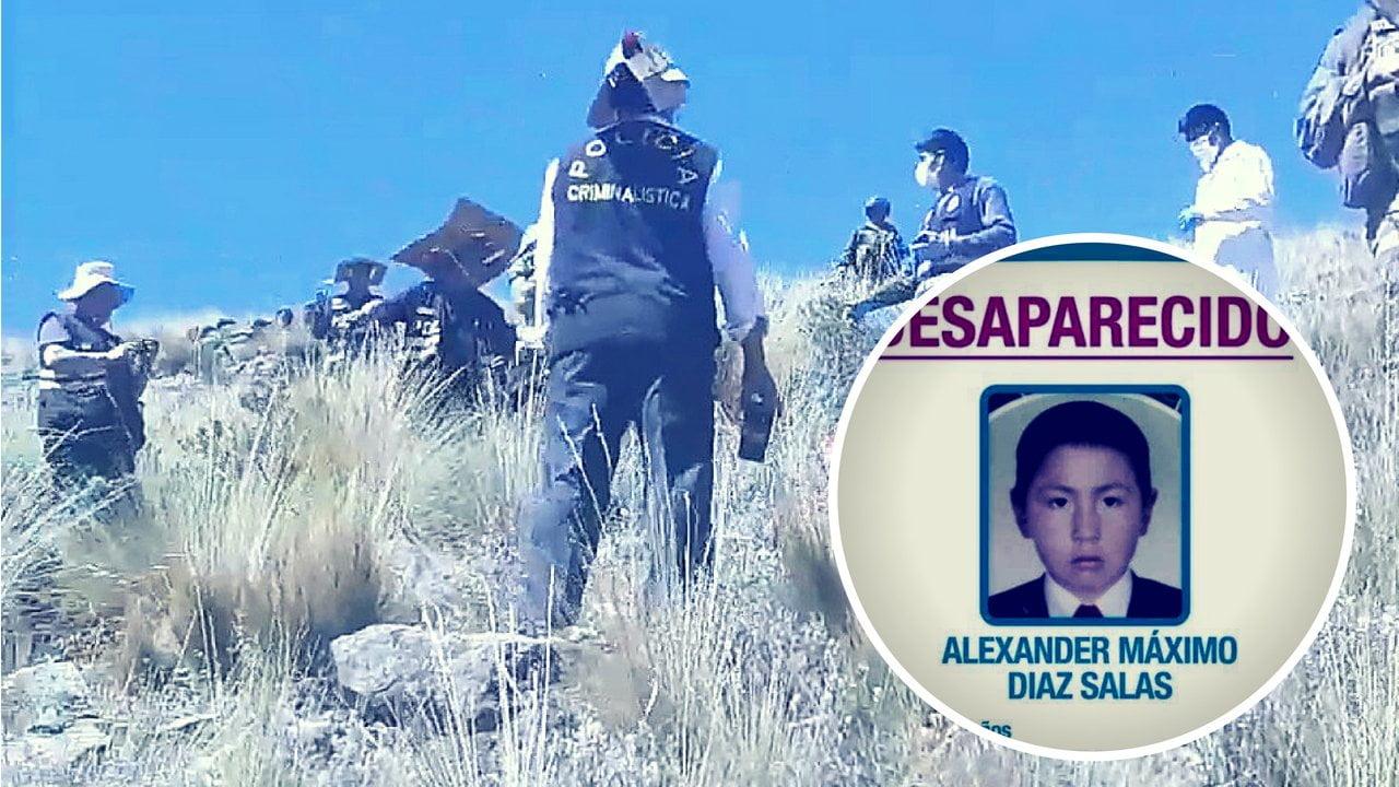Policía halló cadáver de niño secuestrado en el Cusco y piden justicia