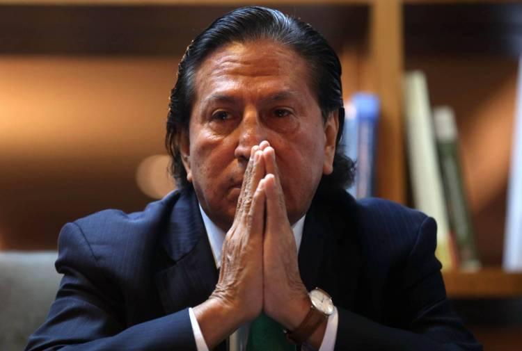 Perú solicitó a Estados Unidos la extradición del expresidente Toledo.