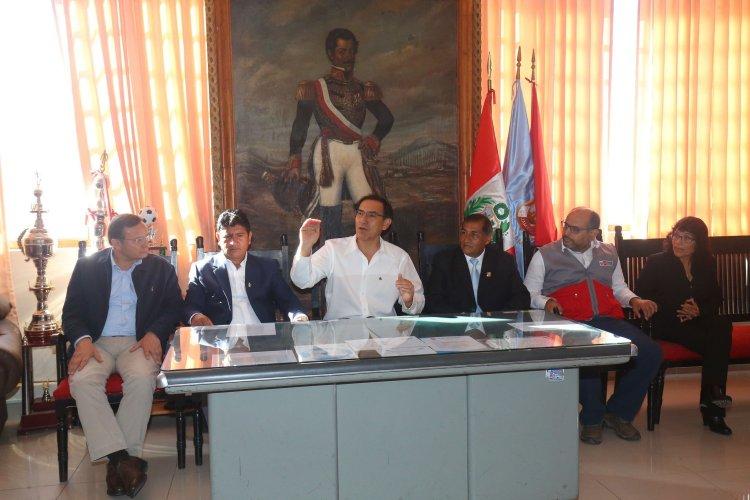 El presidente Vizcarra señaló que muchas localidades del Perú han sido olvidada por años, décadas y hasta siglos.