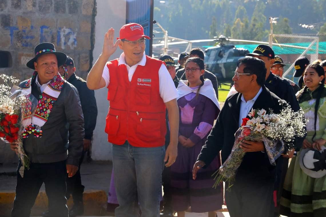 El presidente Vizcarra indicó que la política económica de su gobierno generará progreso.