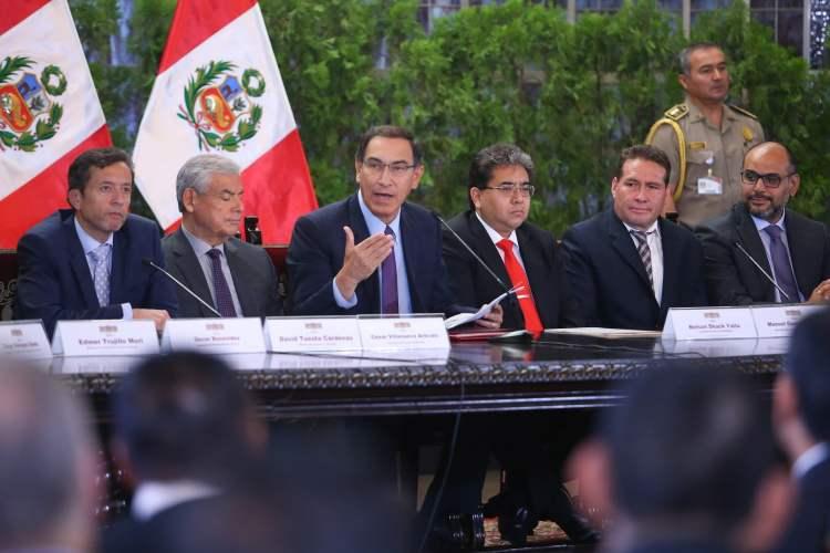 El presidente Vizcarra considera que el gobierno necesita de la publicidad para comunicarse con la población.