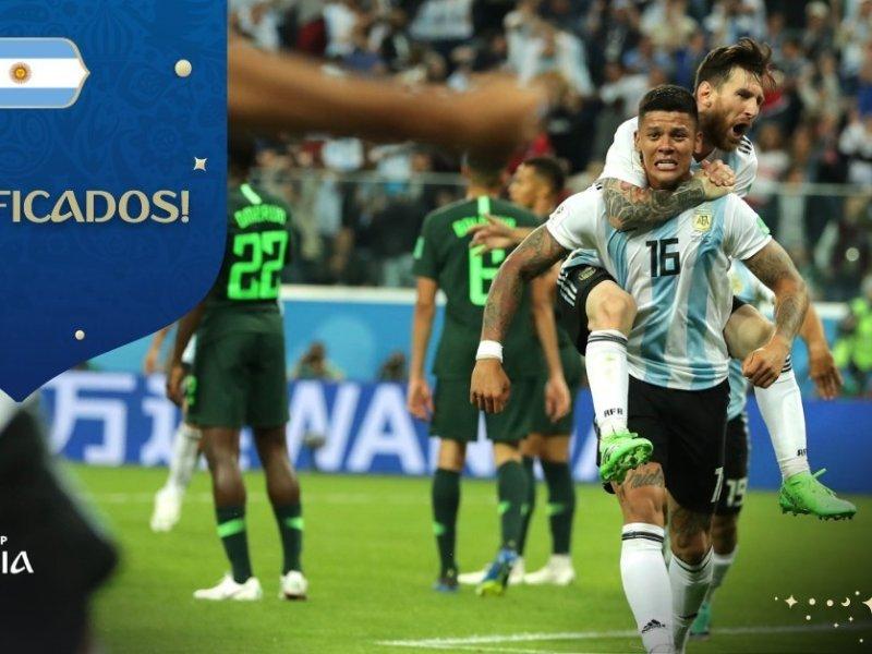 Argentina clasifica
