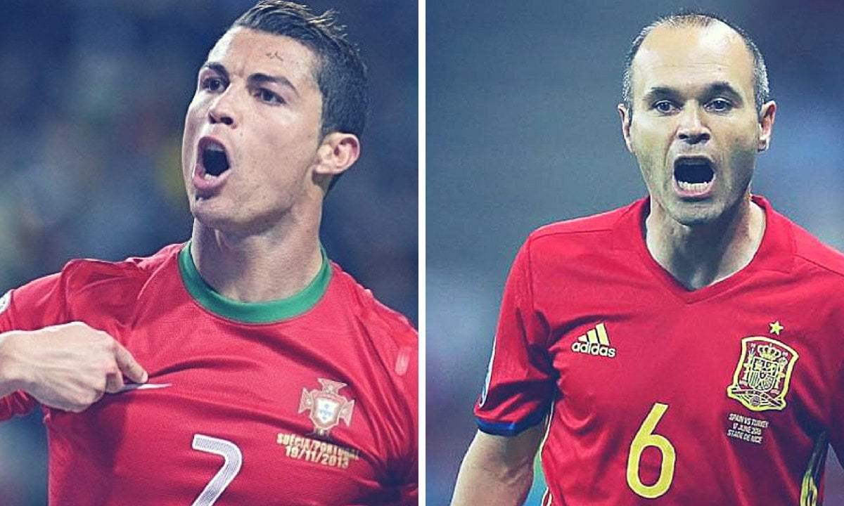España vs Portugal en vivo y en directo