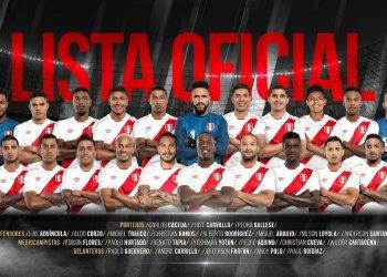 Después de 36 años, Perú disputará un mundial de fútbol y estos son los jugadores que nos representarán.