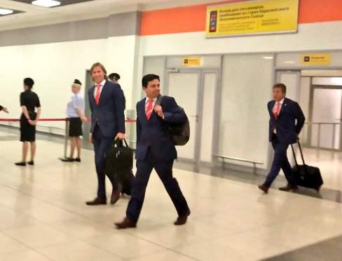 Ricardo Gareca llega a Rusia