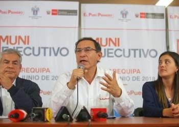 El presidente Vizcarra expresó que la acción de inconstitucionalidad contra la Ley Mulder tiene una posición sólida.
