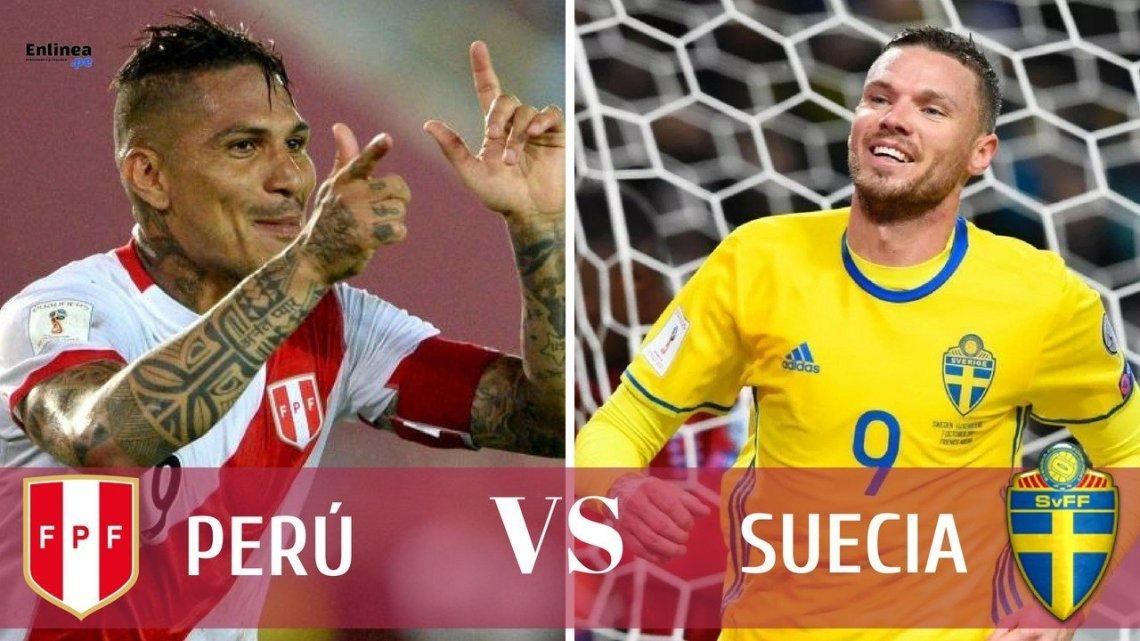 Perú vs Suecia