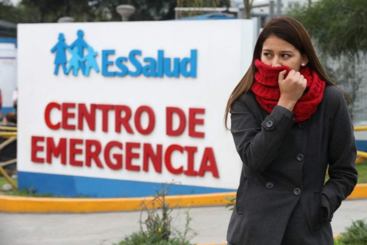 Aumentan las atenciones en EsSalud por afecciones respiratorias
